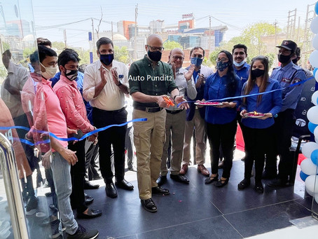 Tata Motors inaugurates 10 new showrooms across Delhi NCR in a day!