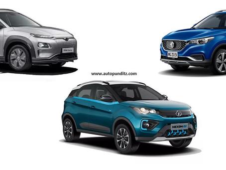 Electric Passenger Vehicle sales for April 2021 - Tata Nexon EV records 70% Market Share!
