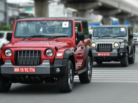 Mahindra Sales Analysis for April 2021 - Thar records its highest monthly volume!