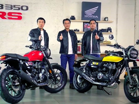 Honda Motorcycle & Scooter India introduced a new variant to its midsized motorcycle Honda H'ness CB