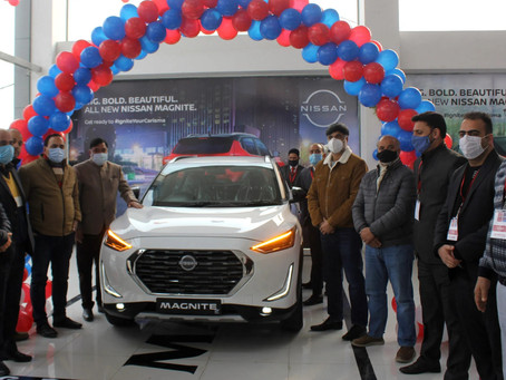 Magnite contributed to over 70% of Nissan India's Volumes in February 2021!