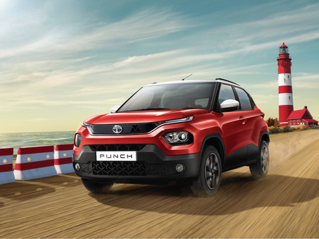 Tata Motors unveils the New Punch and bookings open today at ₹21,000