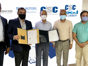 Tata Motors joins hands with Common Service Centre Scheme to widen its reach in rural India!