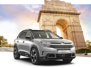 Citroen C5 Aircross launched in India at an introductory price of ₹29.90 lakh!