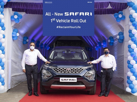 1,707 units of Tata Safari shipped in the first month of its launch