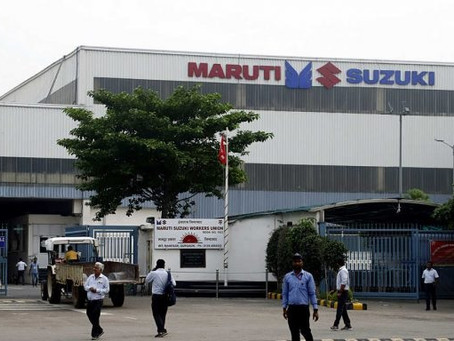 Maruti Suzuki extends plant shutdown by one more week till May 16!