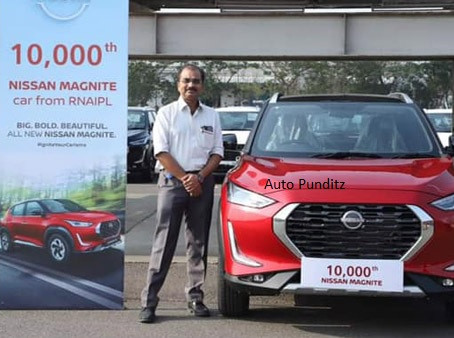 Nissan India Sales for March 2021