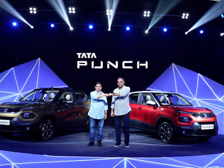 Tata Motors launches the PUNCH at ₹5.49 Lakhs!