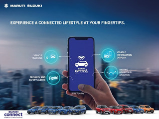 Maruti Suzuki's telematics technology Suzuki Connect is now also available in Arena Channel!