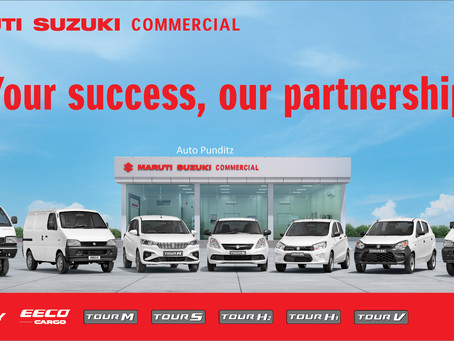 Maruti Suzuki Commercial Vehicle Network crosses 92,000+ sales!