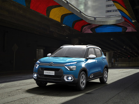 Citroen reveals the C3 Compact SUV for the Indian market!