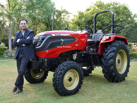 Sonalika commences delivery of Solis Hybrid 5015 - India's 1st Hybrid tractor!