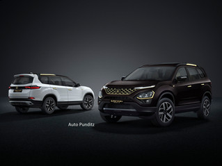 Tata Motors launches the Gold edition of its flagship SUV Safari at ₹21.89 lakhs!