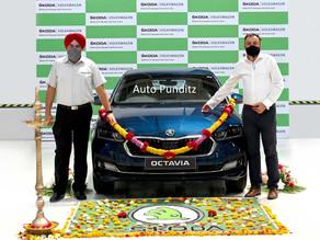 Škoda India commences production of the all-new Octavia!