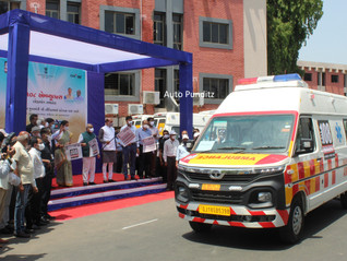 Tata Motors bags order of 115 ambulances from the Government of Gujarat!