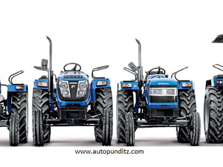 Sonalika records 10,756 overall tractor sales in July'21!