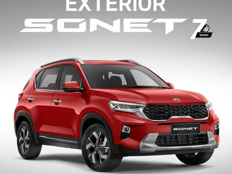 Kia Sonet 7 seater unvieled in Indonesia!