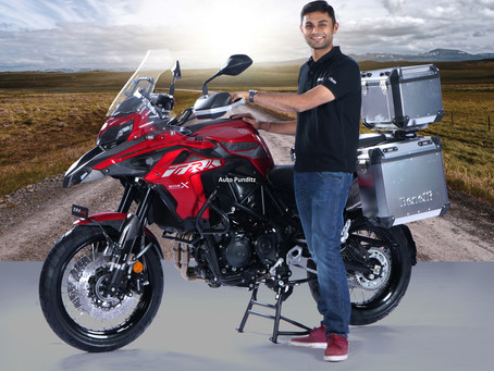 Benelli Launches the BS-VI TRK 502X for an Introductory Price, Starting at ₹ 5,19,900