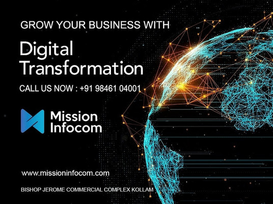 Digital Transformation for a Good Cause . 300+ Businesses in Kerala Digitally Transformed.