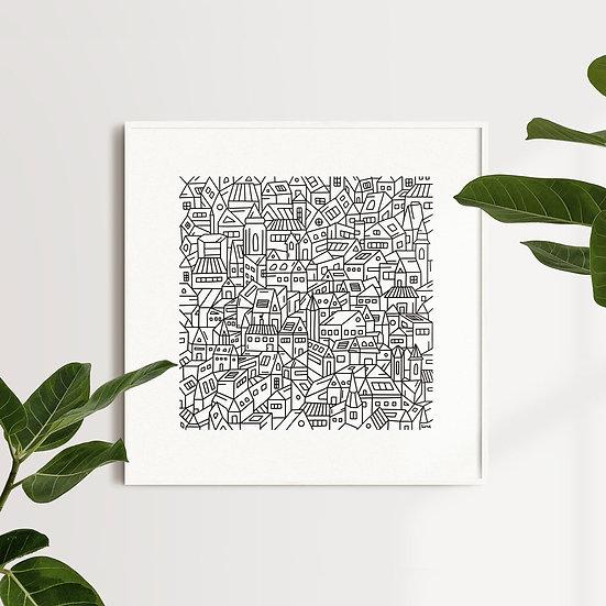 """City"" Print"