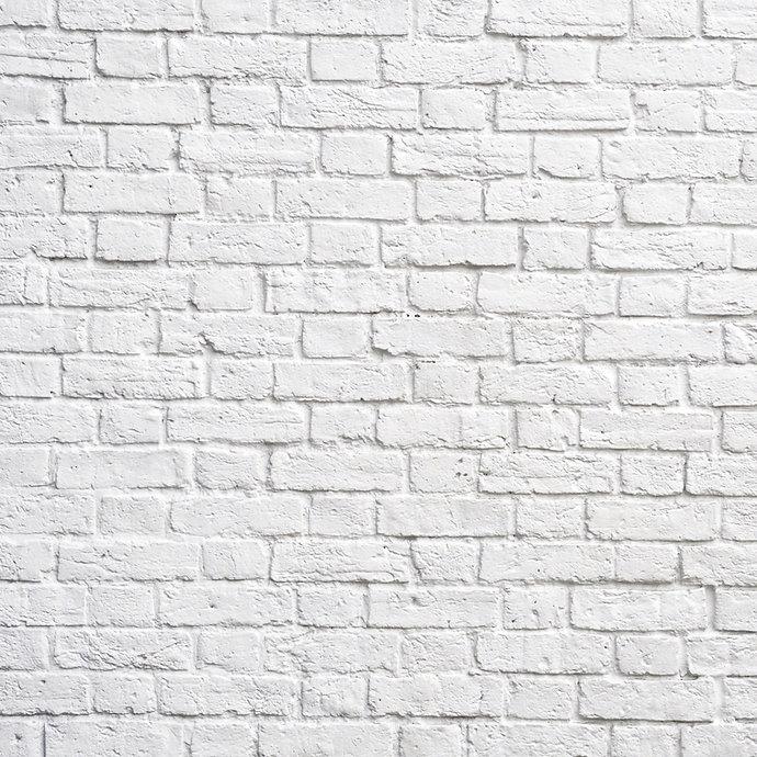 White brick wall, perfect as a backgroun