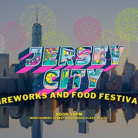 Jersey City Fireworks 2021
