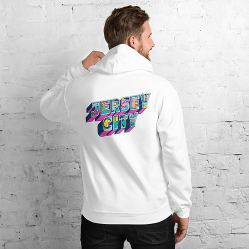 Unisex Jersey City Hoodie (Back Graphic)