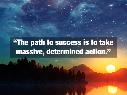 Why taking action creates success - by Gary Stamper