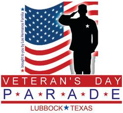Veteran's day Parade logo
