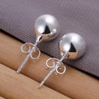 Sterling Ball Earrings