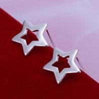Upright Star Earrings