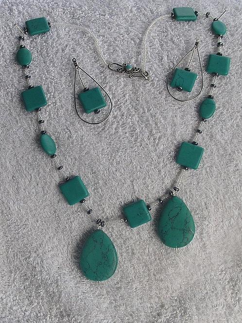 Turquoise Shapes set
