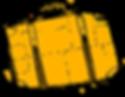 yellow suitcase illustration