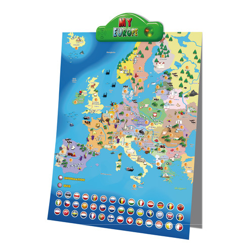 Interactive Map Europe.I Poster My Europe Interactive Map