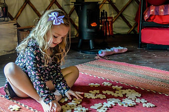 Glamping_ Playtime in the Yurt