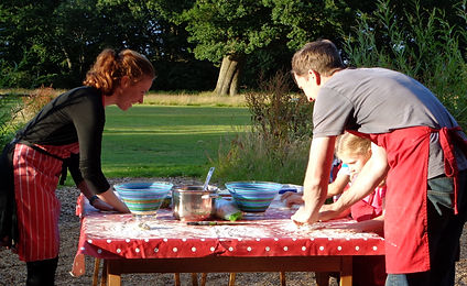 Glamping_ Pizza Making Activity