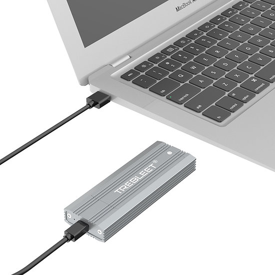 M.2 NVMe SSD Enclosure ,10Gbps USB-C to PCIe NVMe M.2 Hard Drive Enclosure