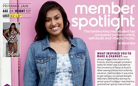 Member Spotlight_Priyanka_WW
