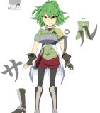 キャラクターデザインと武器デザイン制作