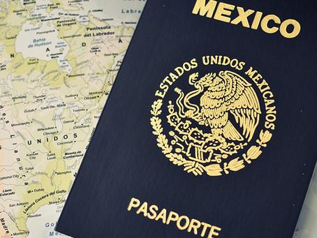 ¡LOS MEXICANOS TENDREMOS PASAPORTE ELECTRÓNICO EN 2021!