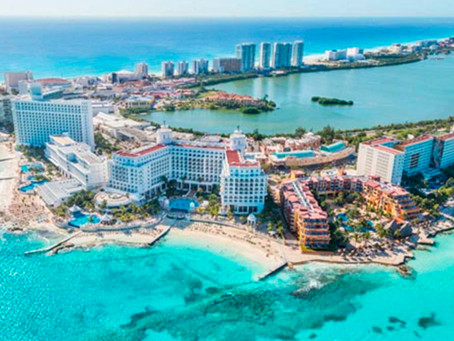 Cancún: aterrizan las primeras vacunas para remontar al Turismo