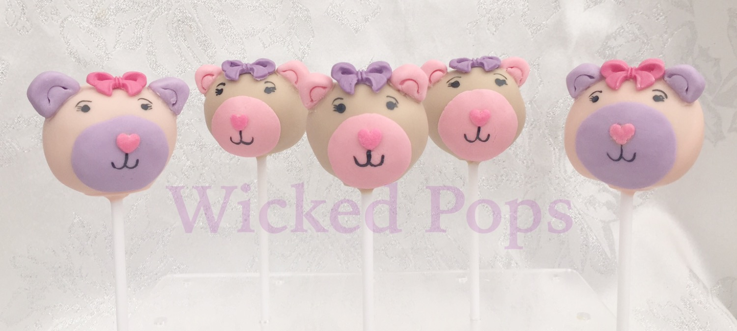 Teddy Bear Cake Pops