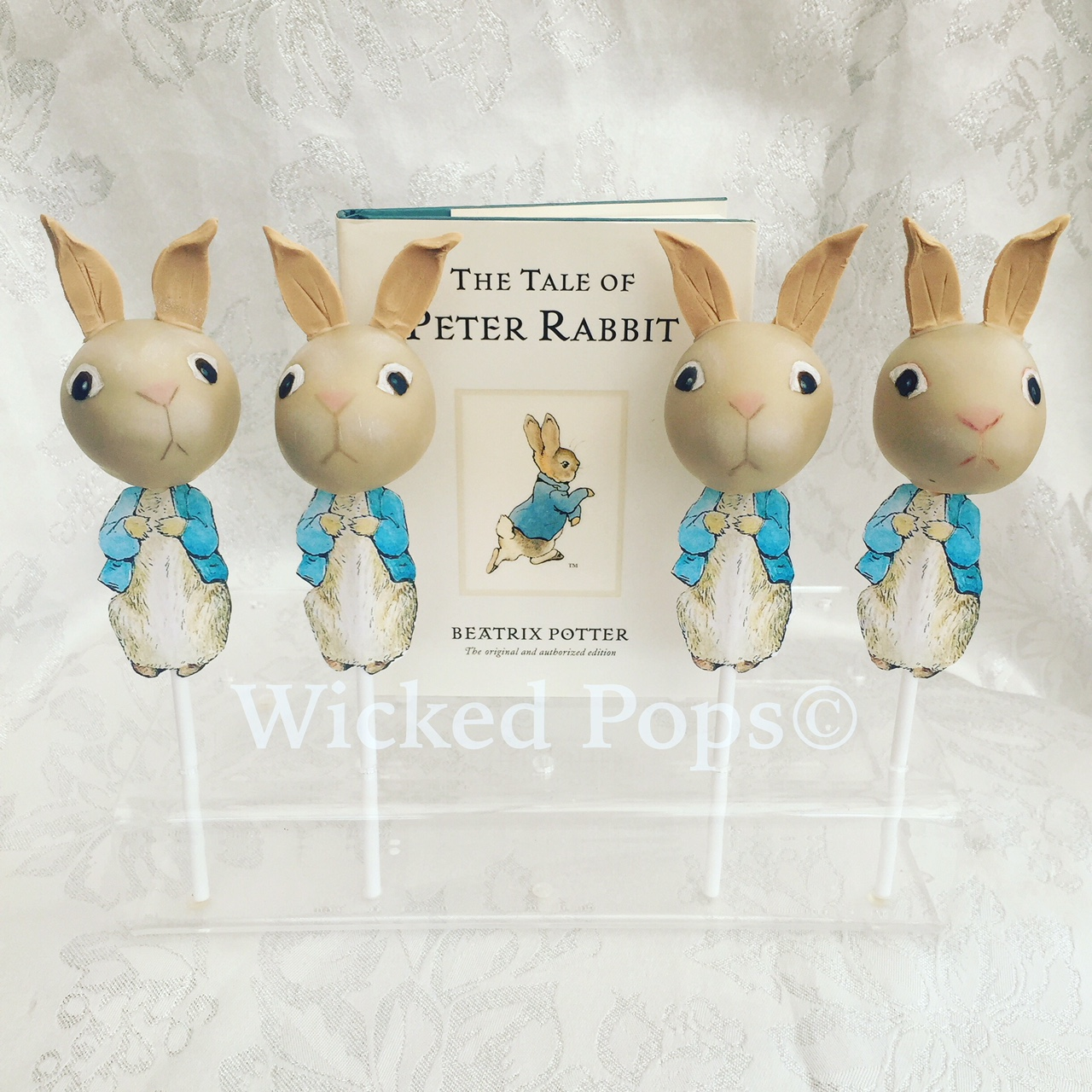 Peter Rabbit Cake Pops