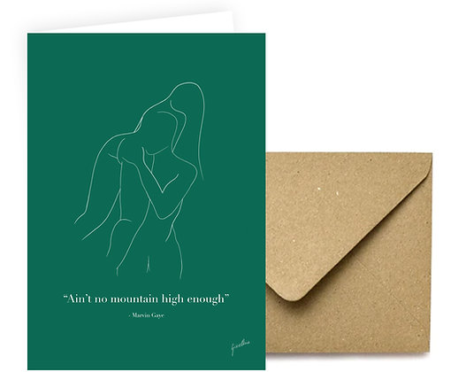 """Ain't No Mountain"" Card"