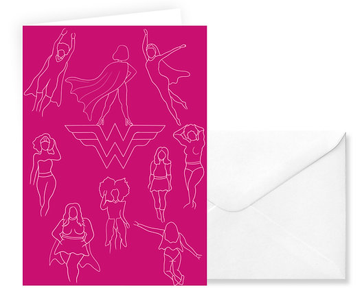 Wonder Women card