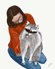 Carol & Raccoon