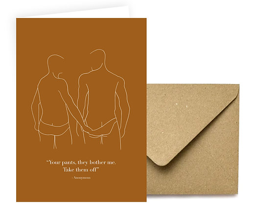 """""""Your Pants"""" Card"""
