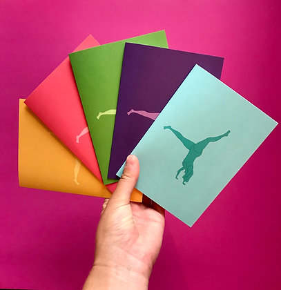 Set of 5 gift cards
