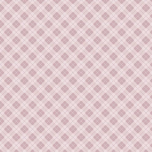 Hexágonos baby rosa