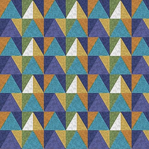 Triângulos Coloridos
